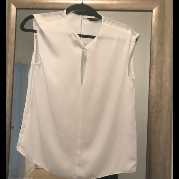 682e20ab8efd0c Zara women s white blouse shirt. M 5af858a16bf5a620e11c9507